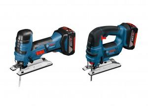 Für Profis: die 18 Volt Akku-Stichsägen GST 18 V-LI S und GST 18 V-Li B. Foto: Bosch