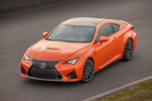 Neuer Sportler von Lexus: der RC F. Foto: Lexus